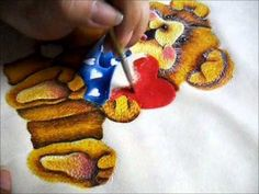 Tutorial Cojín Ositos Gingerbread Cookies, Desserts, Tejido, Pyrography, Pointillism, E Online, Art, Gingerbread Cupcakes, Tailgate Desserts