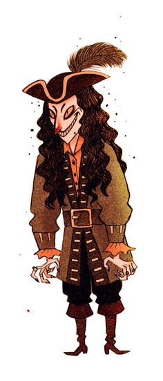 PIRATES SKETCHES by Olivier SILVEN, via Behance