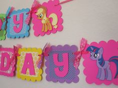 Shop for on Etsy, the place to express your creativity through the buying and selling of handmade and vintage goods. My Little Pony Twilight, My Little Pony Party, Fiesta Little Pony, Cumple My Little Pony, My Lil Pony, 6th Birthday Girls, Birthday Party At Park, Rainbow Birthday Party, Bday Girl