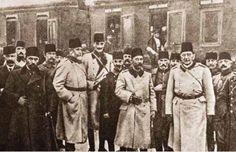 1881-1915 yılları arası Atatürk albümü. Selanik, 1910