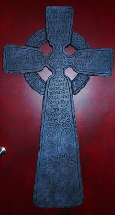 "4' tall 4"" thick - Styrofoam Celtic Cross"