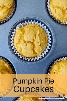 These Pumpkin Cupcakes - A Sweet Fall Treat and easy dessert made with store bought cake mix are a great treat to have after dinner or to bring to your Thanksgiving festivities. Since they only require a few ingredients, they are also super easy to make because sometimes I'd rather spend more time enjoying than I want to baking and cleaning. #kenarry #ideasforthehome Cupcake Recipes, Baking Recipes, Pumpkin Pie Cupcakes, Cupcake Calories, Vanilla Cake Mixes, Homemade Frosting, Fall Treats, Special Recipes, Fall Desserts