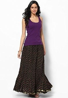 Soundarya Womens Cotton Skirts Free Size Black *** Check out the image by visiting the link. (This is an affiliate link) #CasualOutfits