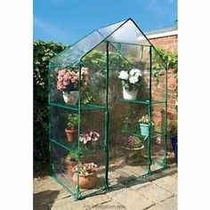 Our Walk-In Greenhouse is ideal for growing tomatoes and otrher vegetables - made from heavy duty PVC - H195cm