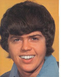 Merrill Osmond. Donny and he look so Much  a like in this picture..,