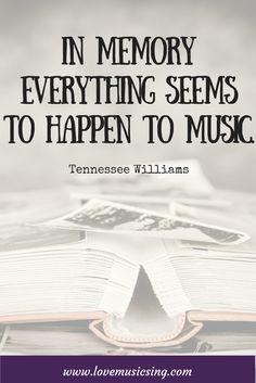 #TennesseeWilliams  #music #quote #musicquote #musicquotes