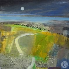Pictures by Fiona Millais from The Jerram Gallery, Sherborne, Dorset. Contemporary British pictures and sculpture