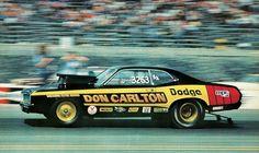 Vintage Drag Racing - Dodge Demon - Don Carlton