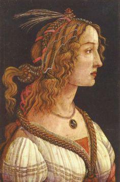 Botticelli. Un portrait de Simonetta Vespucci