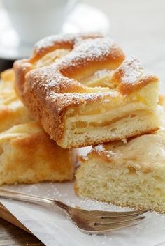 Eggless Recipes, Apple Recipes, Raw Food Recipes, Sweet Recipes, Cooking Recipes, Healthy Cake, Vegan Cake, Healthy Baking, Italian Desserts