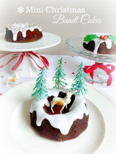 Mini bundt cake christmas recipes