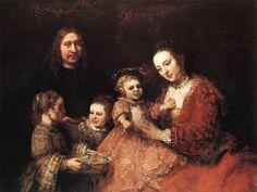 Family Group Artist: Rembrandt Start Date: 1666