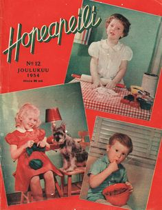 Hopeapeili nro 12/1954 Chocolate Angel, Old Commercials, Good Old Times, Magazine Articles, Vintage Advertisements, Magazine Covers, Finland, Album Covers, Retro Vintage