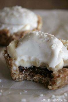 Mini banoffee pies {raw & vegan}