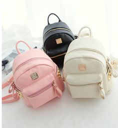 small backpack 🎒 grey, black, or pink NWT | Bags, Grey and Mini ...