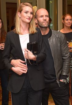 Younger Skin Starts in the Gut Book Party from Party Pics: Hollywood PDA alert! Rosie Huntington-Whiteley and Jason Statham look so sweet together at the Four Seasons Hotel in Beverly Hills.