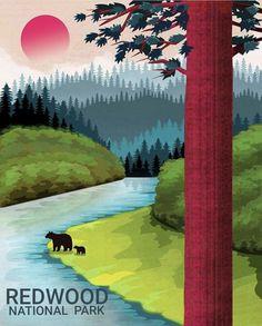 Country scene 1154 Fine Graphic Art Home Wall Design Decor Nature Poster