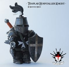 Custom Printed on LEGO Teutonic Knights Body