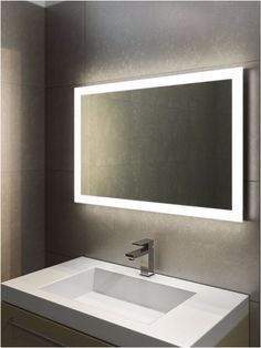 Photo Gallery For Website Bathroom Mirror And Light New Bathroom Mirror and Light halo wide led light bathroom mirror light mirrors