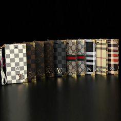 ルイ・ヴィトン、グッチ、バーバリー風人気大レザーケース、カード等の収納も可能のiphone7、iphone7plus、iphone6s、アイフォン6s plusカバー。
