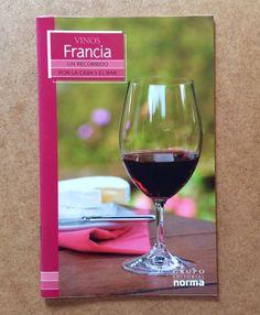 VINOS FRANCIA Un Recorrido Por La Cava Y El Bar French Wine Spanish Book Gift #GrupoEditorialNORMA