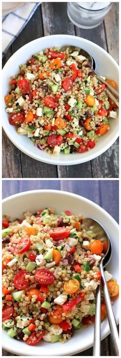 Israeli Couscous Salad ~ Top Kitchen Magazine