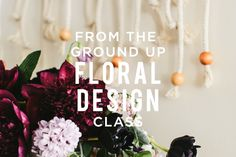 Would you like to join in our Floral Design Workshop held at the Moorea Seal store in Seattle, WA this Friday from 6-8pm?  We have just a few spots left and we'd love to invite you to join!    Sign up at http://www.mooreaseal.com/products/from-the-ground-up-floral-design-workshop  See you soon!