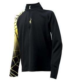 A great baselayer to start your winter fun with a quarter zip for easy on and off