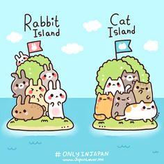 Sólo en Japón: Rabbit Island & Cat Island