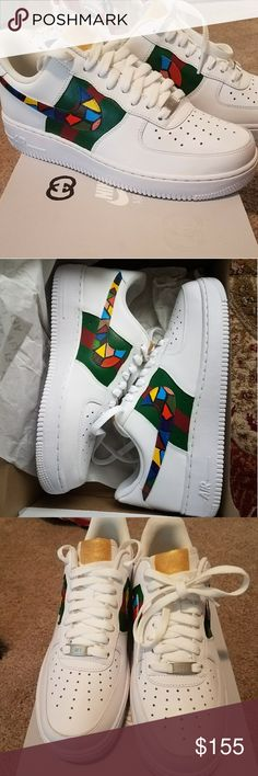Custom gucci air force one brand new Brand new gucci air force one all sizes available Jordan Shoes Sneakers
