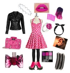 """pink spot chick"" by madamfruitloop on Polyvore featuring Joseph, VIPARO, Privileged, Moschino, BERRICLE, yunotme, LeiVanKash and Viktor & Rolf"
