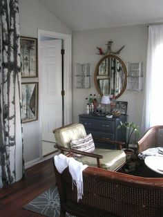 Just love the feel the decor gives this room.