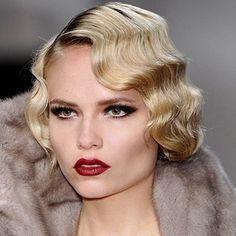 coiffure annee 30 afficher l image d origine maquillage retro idees de coiffures coiffures gatsby
