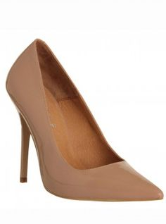 nude shoes - Office On Tops Pointed Heel, £65 - Woman And Home