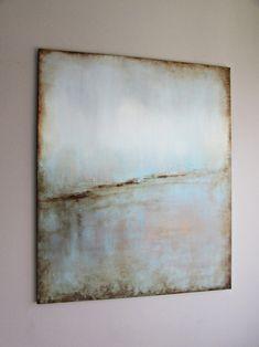 """""""Oczekiwanie"""" abstrakcja sylwia michalska 120x100cm Www.artpracownia.wordpress.com"""