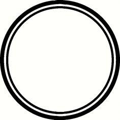 circle | Circle Border Vinyl Decal | Borders & Frames Vinyl Decals