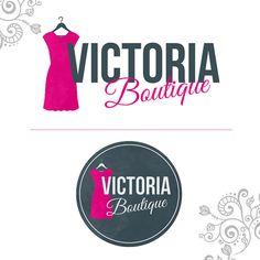Boutique Logo  Shoe/Dress Logo  Clothes Logo  por SeryDesignStore