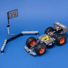 LEGO MOC 42119 Tribe Cup Formula Racer by Keep On Bricking   Rebrickable - Build with LEGO Brick Saw, Lego Technic Sets, Lego Group, Lego Parts, Lego Moc, Monster Trucks, Cars, Lego Pieces, Autos