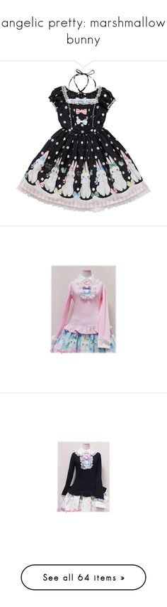 """""""angelic pretty: marshmallow bunny"""" by scoutvenus ❤ liked on Polyvore featuring accessories, hair accessories, headbands, accessories - hair, hair accessories - headbands, head wrap headbands, hair band accessories, headband hair accessories, dresses and lolita"""