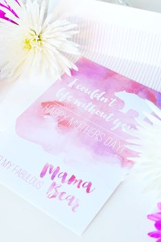 Free Mother's Day Card @weddingchicks