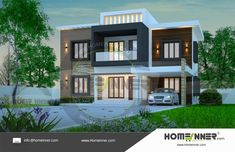 Searching for 30 Lakh 3 BHK 2153 sq ft Pune Villa ? then here is 30 Lakh 3 BHK 2153 sq ft Pune Villa house plan idea from the leading hom. Free House Plans, House Floor Plans, Online Home Design, Custom Floor Plans, House With Balcony, Indian Home Design, 3d Interior Design, House Elevation, Bedroom House Plans