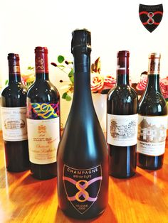 Champagne Infinite Eight et Grand Vin de Bordeaux