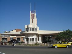 asmara images   Another view of the fiat building