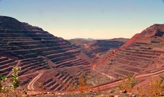 The Argyle Diamond Mine. Argyle Diamond, Jones Company, The Argyle, Diamond Mines, Father Time, Western Australia, Natural World, Planet Earth, Eye Candy