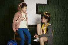 Shoot Collège pour Little Fashion Gallery  Photographe: Chalotte Evrard; DA: Lisa Gachet; Assistantes Léonie Escolivet et Charlotte Sagory; Make-up: Nelly Chatagnon