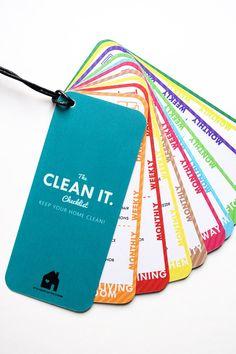 Clean It! (& A Free Printable)