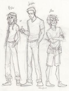 Piper, Jason and Leo