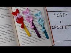 Gató Marcapáginas de ganchillo I Crochet CAT I Cucaditasdesaluta - YouTube