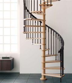 escalera de caracol modelo vip escalera de caracol con y peldaos de haya laminada de