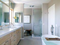 Culver Crest - contemporary - bathroom - los angeles - Erica Islas / EMI Interior Design, Inc.